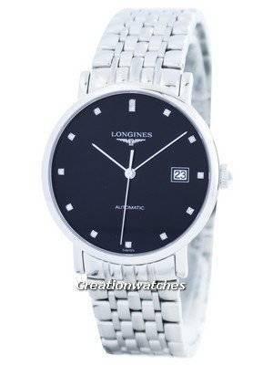 Longines Elegant Automatic Diamond Accent L4.810.4.57.6 Men's Watch