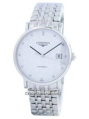 Longines Elegant Collection Automatic Diamond Accent L4.810.4.77.6 Men's Watch