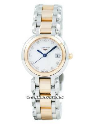Longines PrimaLuna Quartz Diamond Accent L8.110.5.87.6 Women's Watch