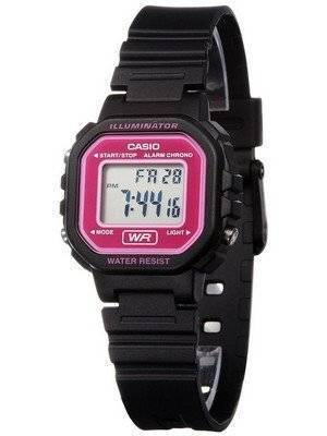 Casio Digital Quartz Alarm Chrono Illuminator LA-20WH-4ADF LA-20WH-4A Women's Watch