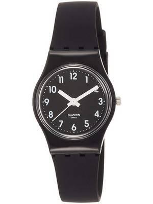 Swatch Originals Lady Black Single Analog Quartz LB170E Women's Watch