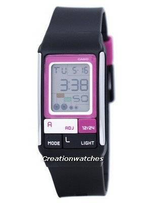 Casio Digital Quartz Dual Time Alarm LDF-52-1ADR LDF-52-1A Women's Watch