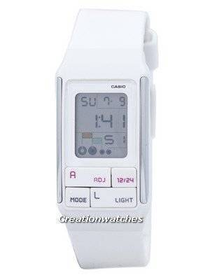 Casio Digital Quartz Dual Time Alarm LDF-52-7ADR LDF-52-7A Women's Watch