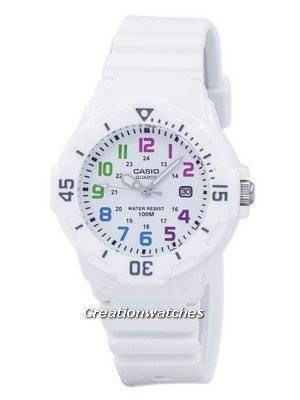 Casio Enticer Analog White Dial LRW-200H-7BVDF LRW200H-7BVDF Women's Watch