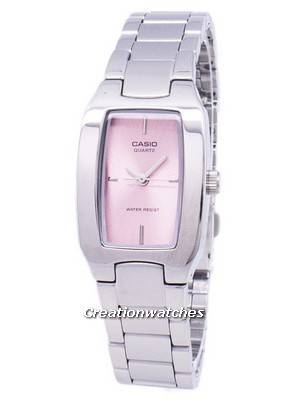 Casio Enticer Analog Pink Dial LTP-1165A-4CDF LTP-1165A-4C Women's Watch