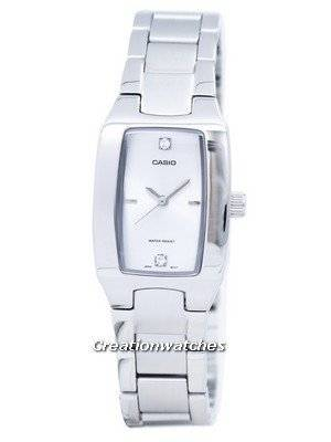 Casio Enticer Analog Silver Dial LTP-1165A-7C2DF LTP-1165A-7C2 Women's Watch
