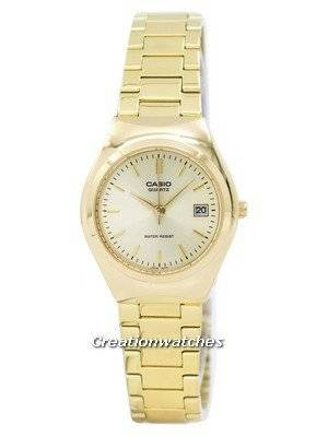 Casio Analog Gold Tone LTP-1170N-9ARDF LTP-1170N-9AR Women's Watch