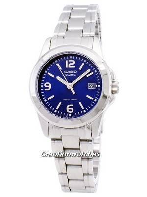 Casio Analog Quartz Blue Dial LTP-1215A-2ADF LTP-1215A-2A Women's Watch
