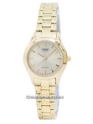 Casio Analog Quartz Gold Tone Dial LTP-1275G-9ADF LTP-1275G-9A Women's Watch