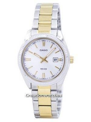 Casio Enticer Analog Quartz LTP-1302SG-7AVDF LTP-1302SG-7AV Women's Watch