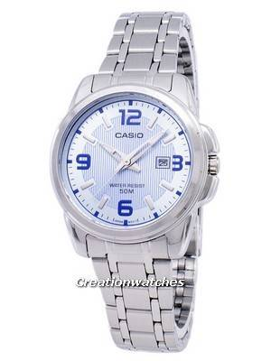 Casio Enticer Analog Quartz LTP-1314D-2AVDF LTP-1314D-2AV Women's Watch