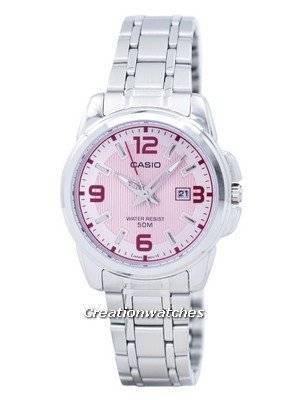 Casio Enticer Analog Quartz LTP-1314D-5AVDF LTP-1314D-5AV Women's Watch