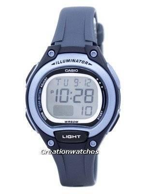 Casio Illuminator Dual Time Alarm Digital LW-203-2AV LW203-2AV Women's Watch