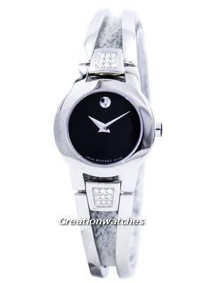 Movado Amorosa Swiss Made Quartz Diamonds 0604982 Women's Watch