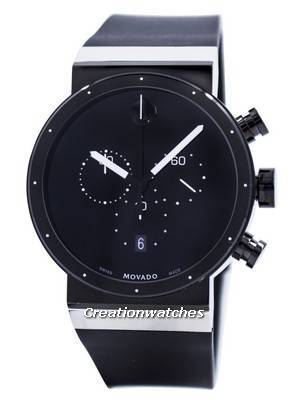 Movado Sapphire Synergy Chronograph Swiss Made Quartz 0606501 Men's Watch