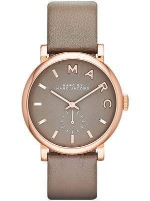 Marc By Marc Jacobs Baker Grey Dial Leather Band MBM1266 Women's Watch