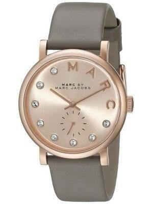 Marc By Marc Jacobs Baker Quartz Rose Gold Dial MBM1400 Women's Watch