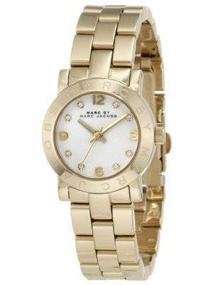 Marc By Marc Jacobs Mini Amy White Dial MBM3057 Women's Watch