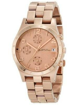 Marc By Marc Jacobs Henry Chrono Rose Gold Dial MBM3074 Women's Watch