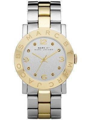 Marc By Marc Jacobs Amy Silver Dial Stainless Steel MBM3139 Women's Watch