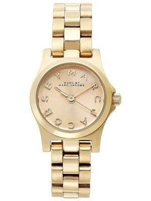 Marc By Marc Jacobs Henry Dinky Champagne Dial MBM3199 Women's Watch