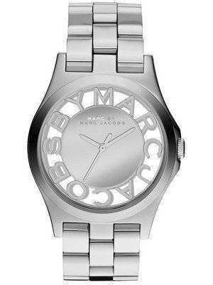 Marc By Marc Jacobs Henry Skeleton Silver Dial MBM3205 Women's Watch