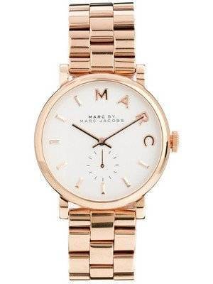 Marc By Marc Jacobs Baker White Dial MBM3244 Women's Watch