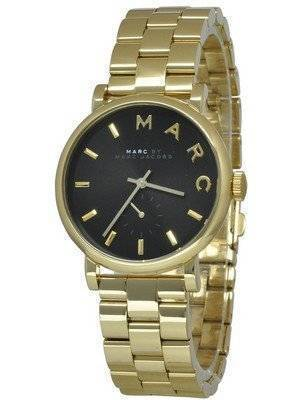 Marc By Marc Jacobs Baker Black Dial MBM3355 Women's Watch