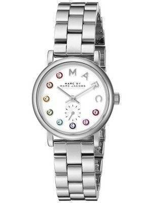 Marc By Marc Jacobs Baker Quartz Silver Dial MBM3420 Women's Watch