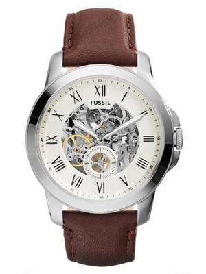 Fossil Grant Automatic Skeleton Dial ME3052 Men's Watch