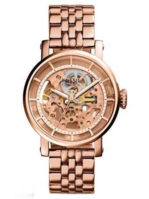 Fossil Original Boyfriend Automatic Skeleton Dial ME3065 Women's Watch