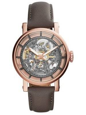Fossil Original Boyfriend Automatic Skeleton Dial ME3089 Women's Watch