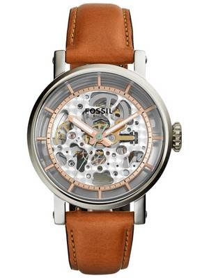 Fossil Original Boyfriend Automatic Skeleton Dial ME3109 Women's Watch