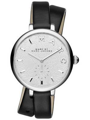 Marc by Marc Jacobs Sally Quartz Double Wrap Leather Strap MJ1419 Women's Watch