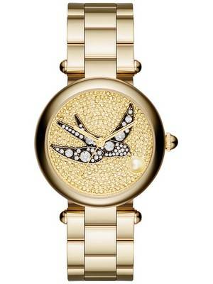 Marc Jacobs Dotty Crystal Pave Quartz MJ3498 Women's Watch