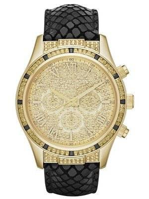 Michael Kors Layton Chronograph Crystal Pave Dial MK2310 Women's Watch