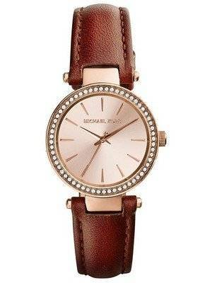Michael Kors Petite Darci Rose Dial Crystals MK2353 Women's Watch