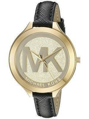 Michael Kors Slim Runway Gold Dial MK2392 Womens Watch