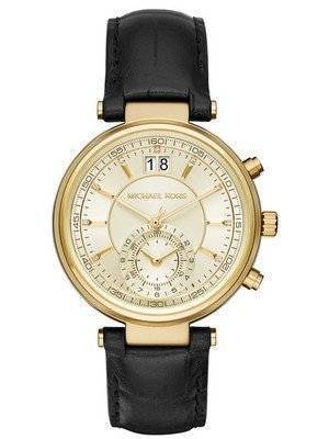 Michael Kors Sawyer Champagne Dial Date Display MK2433 Women's Watch