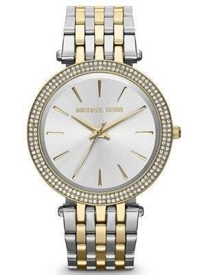 Michael Kors Darci Two-Tone Crystals MK3215 Women's Watch