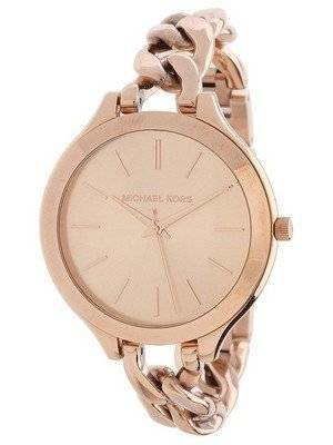 Michael Kors Slim Runway Twist Rose Gold-tone MK3223 Women's Watch