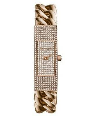 Michael Kors Hayden Rose Crystal Pave Dial MK3307 Women's Watch