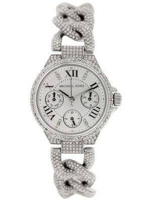 Michael Kors Camille Multi-Function Crystal-Set MK3309 Women's Watch