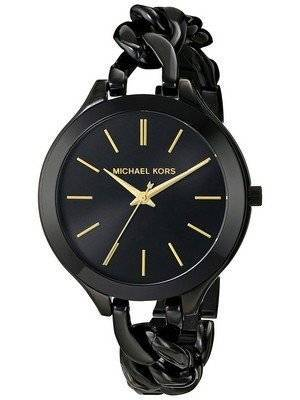 Michael Kors Slim Runway Black Dial MK3317 Women's Watch