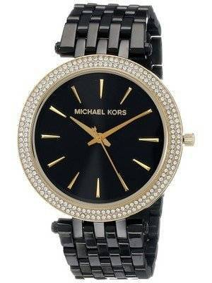 Michael Kors Darci Black Dial Crystals MK3322 Women's Watch