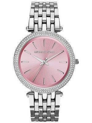 Michael Kors Darci Pink Dial Crystals MK3352 Women's Watch