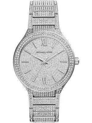 Michael Kors Kerry Crystal Pave Stainless Steel MK3359 Women's Watch