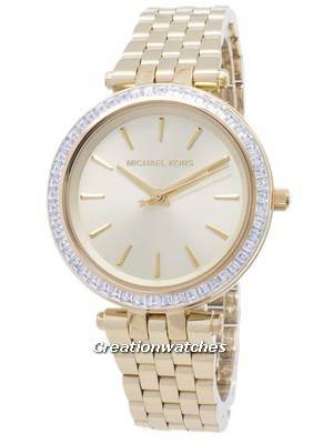 Michael Kors Mini Darci Crystals Gold Tone MK3365 Women's Watch
