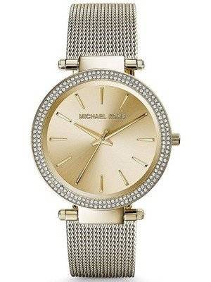 Michael Kors Darci Gold Tone Crystals MK3368 Women's Watch