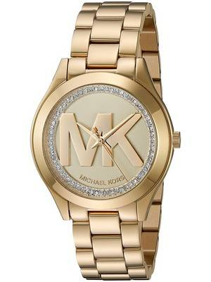 Michael Kors Mini Slim Runway Crystal Quartz MK3477 Women's Watch